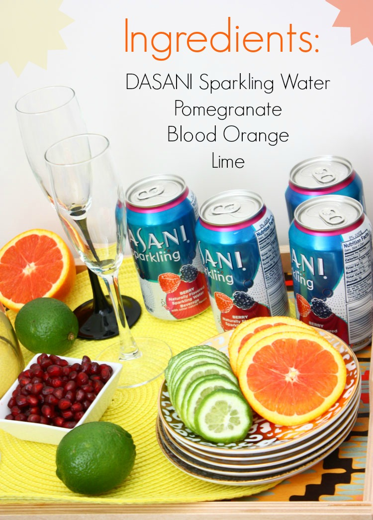 sparkling-water-mocktail ingredients