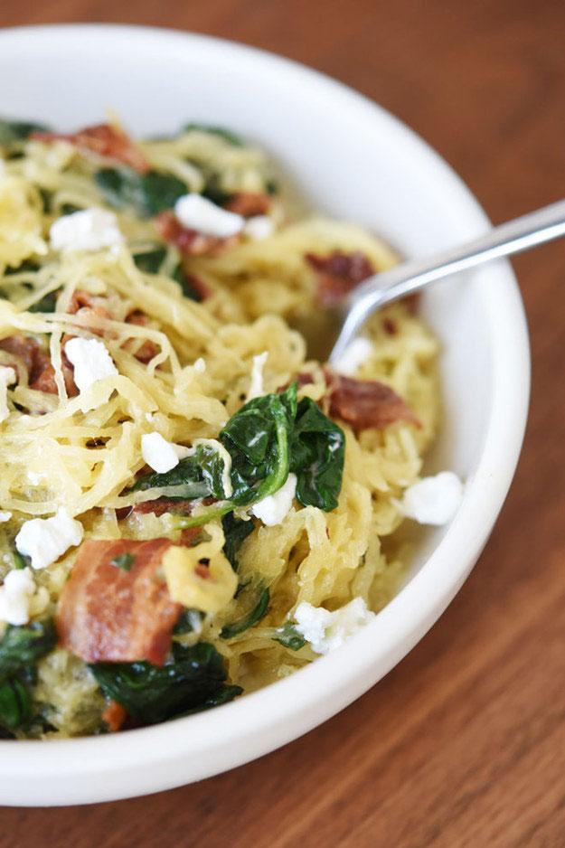 Spaghetti-Squash-Bacon-Cheese