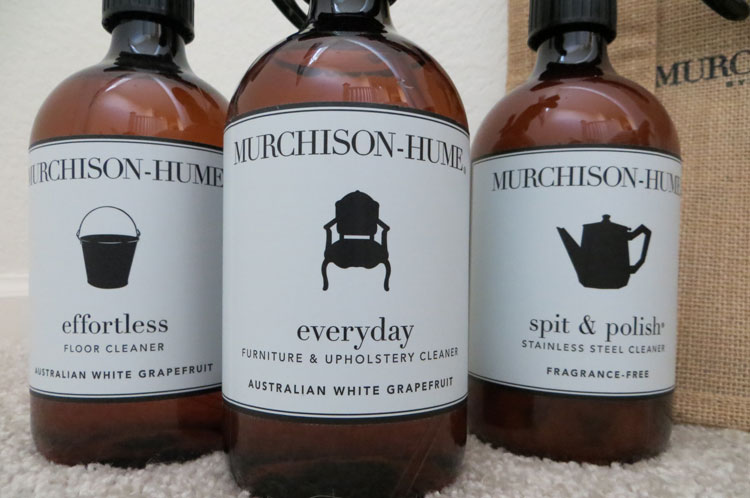 Replacing Toxic Home Cleaners with Murchison-Hume {Giveaway}
