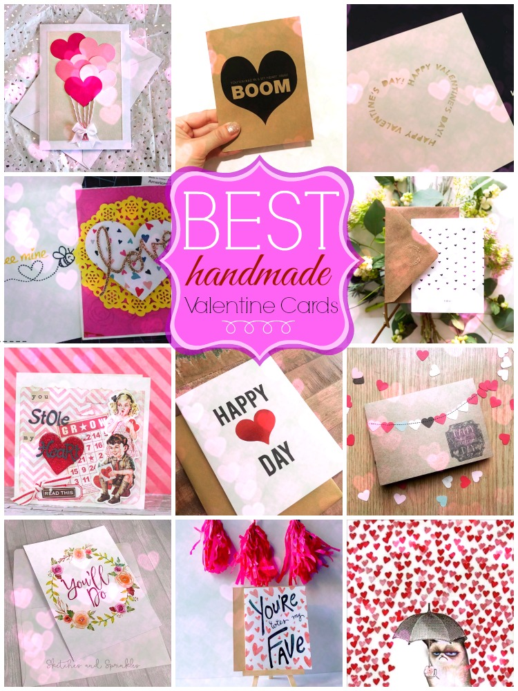 Handmade Valentine Card Ideas