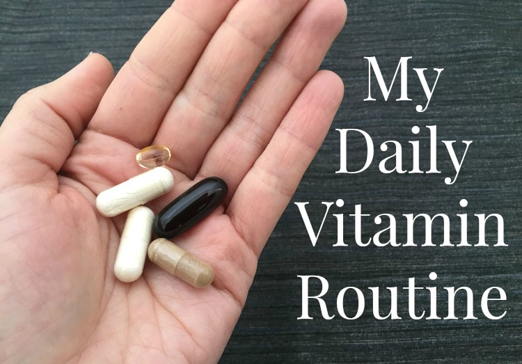 My daily vitamin routine and nature made with our best for Recommended daily dose of fish oil