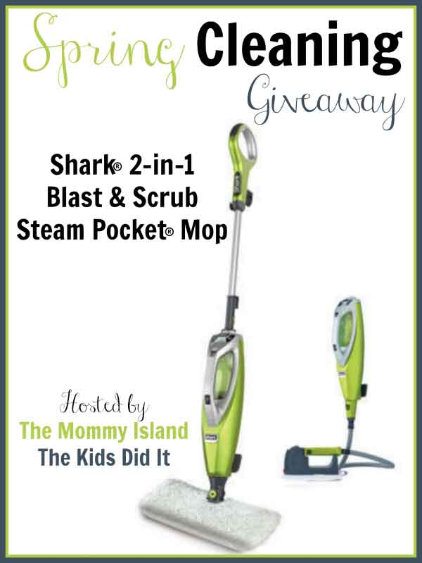 Shark Scrub Steam Mop Giveaway Hop!