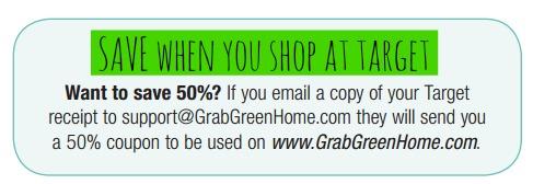 Grab Green Home Target