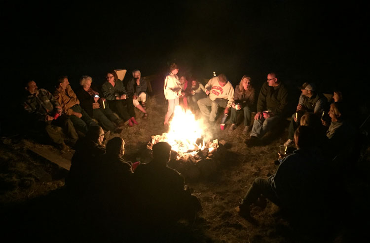 Camp-fire-Canon-City