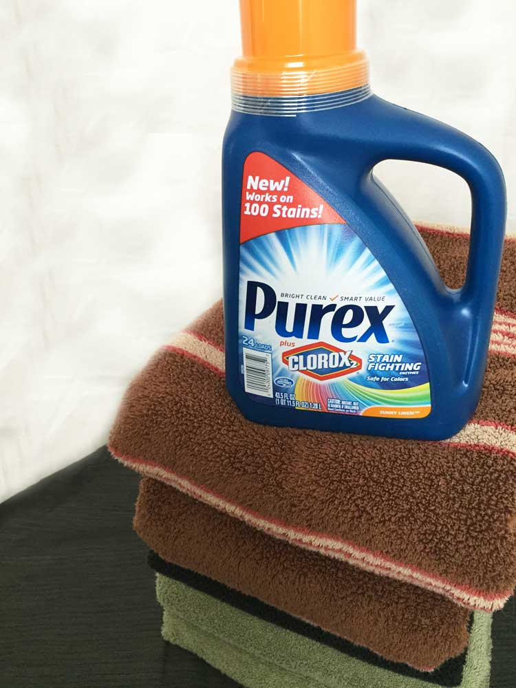 Purex Plus Clorox For Fighting Stains