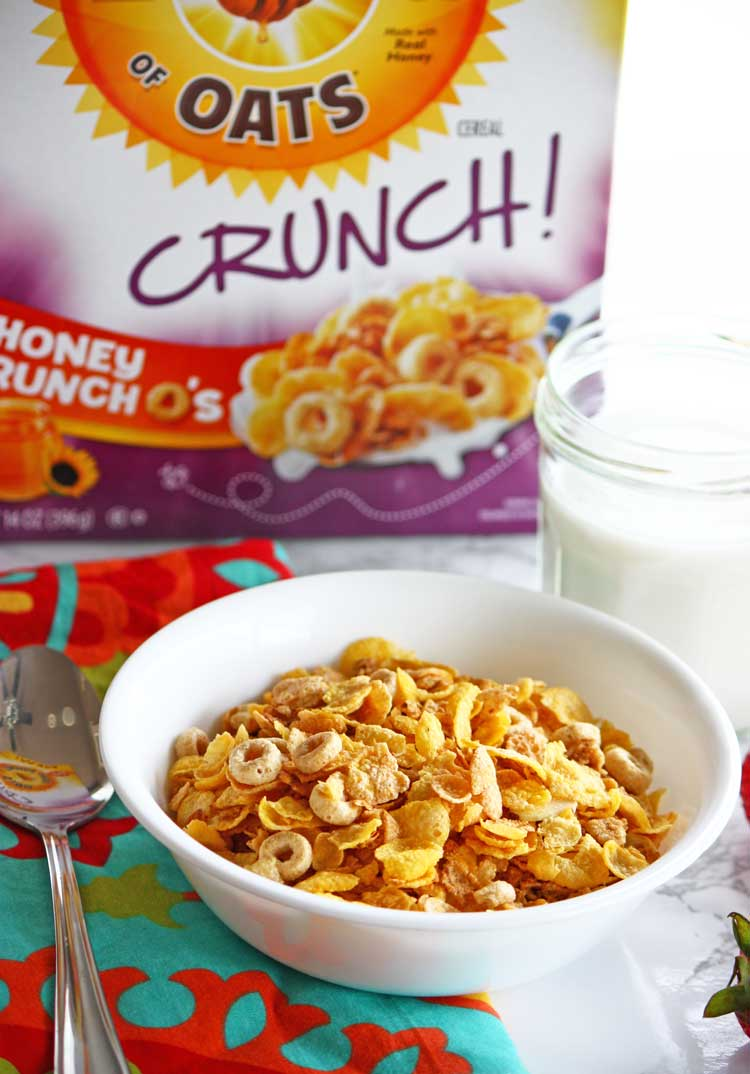 New Cereal With Crunch: Honey Bunches of Oats Crunch O's