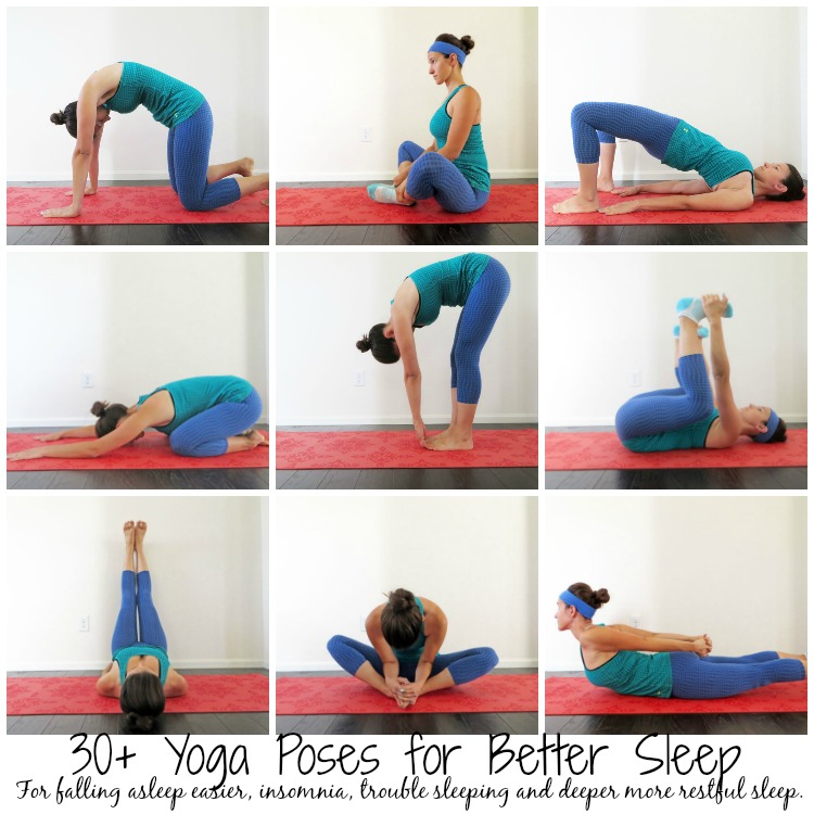 30+ Yoga Poses for Sleep