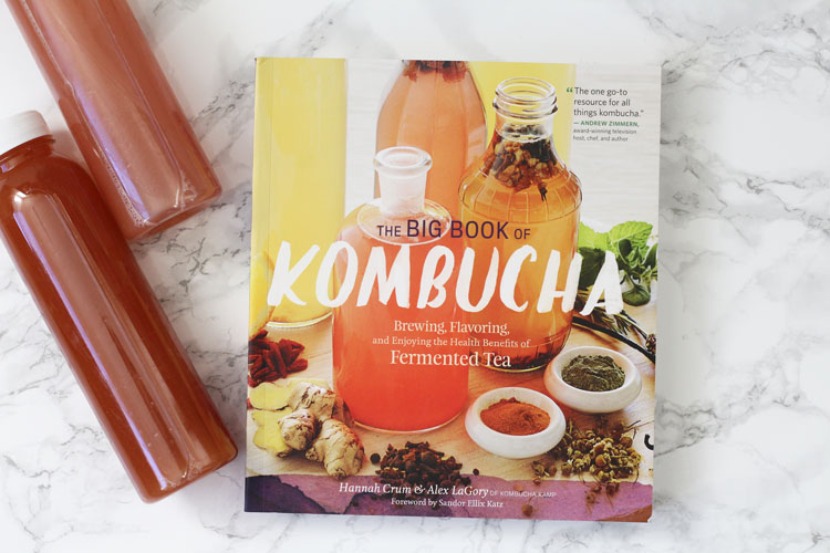 Everything You Need to Know About Kombucha is in The Big Book of Kombucha