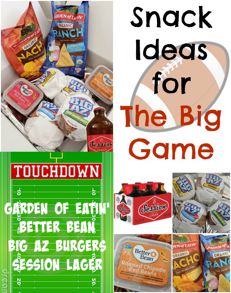 Snack Ideas For the Big Game #BigGameBabbleBoxx