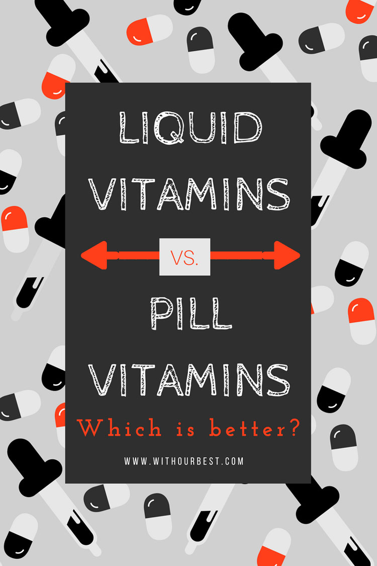 Supplements: Liquid Vs. Pills – Which is Better?