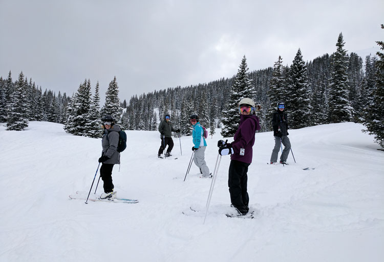 Skiing-Telluride
