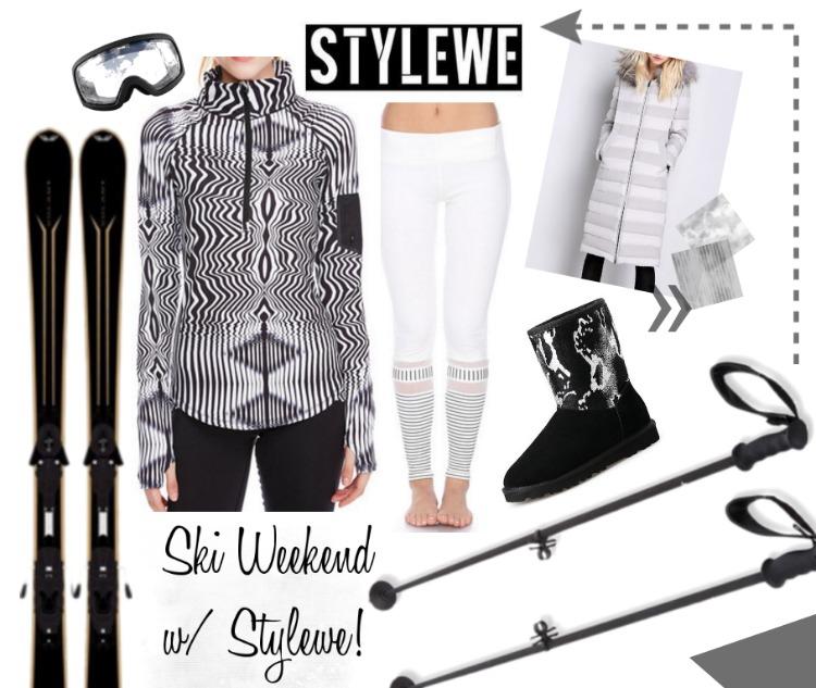 Skiing Telluride in Stylewe Sportswear