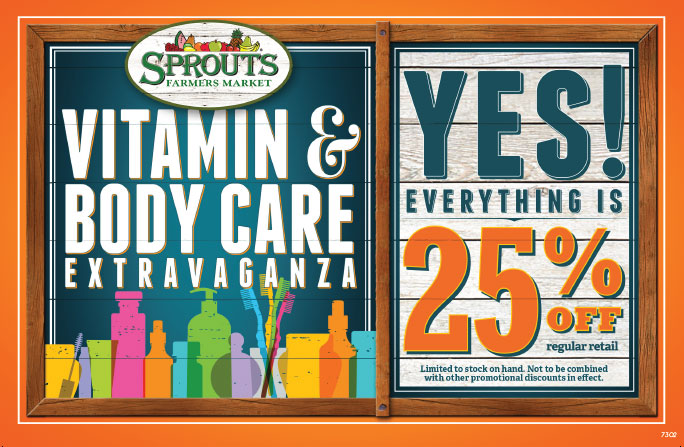 New Year, New Natural Products from Sprouts #VitaminExtravaganza