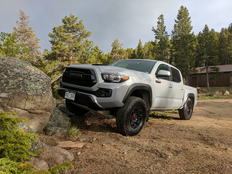 my week with the 2017 toyota tacoma trd pro boulder co. Black Bedroom Furniture Sets. Home Design Ideas