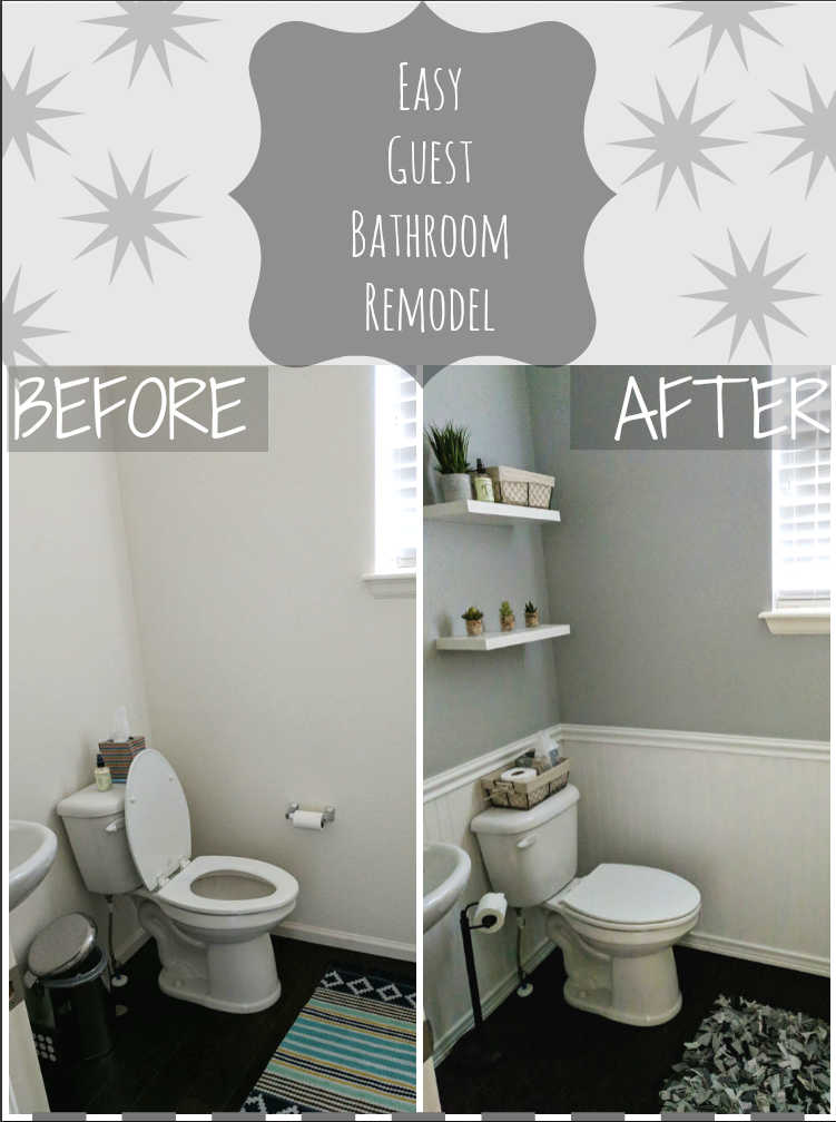 Simple DIY Bathroom Remodel - With Our Best - Denver ...