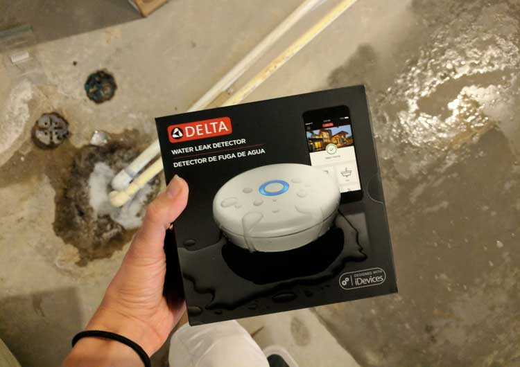 Delta Leak Detector – Our Basement Flooded and Our Fridge Leaks!