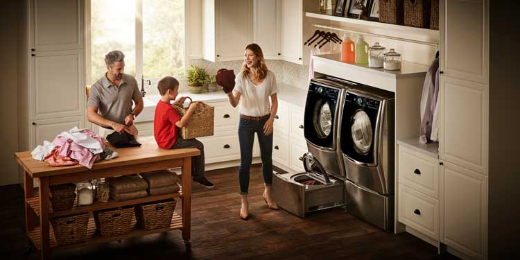 Best Buy LG Twin Wash – Loads of Laundry – Loads of Features