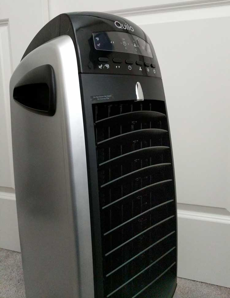 Quilo Fan With Evaporative Cooler And Humidifier With