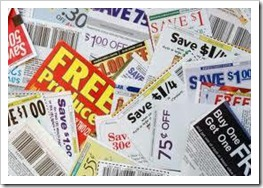 Cut-out-coupons