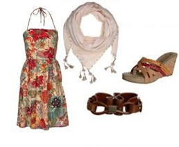 Sping-Dress-Flower-Outfit
