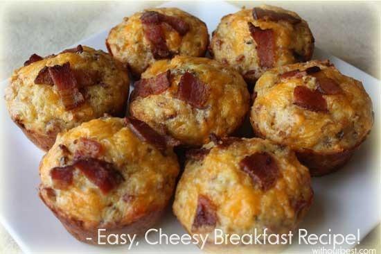 Cheesy-breakfast-bacon-muff