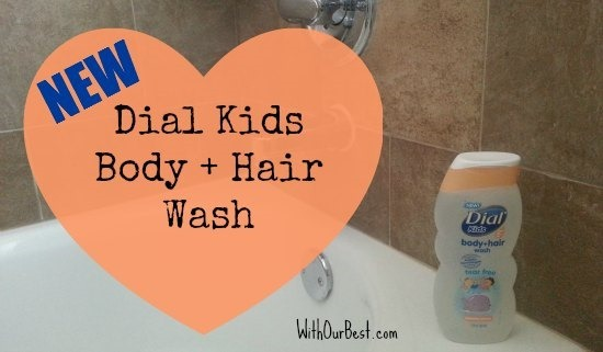 dial kids body hair wash