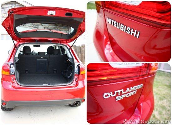 back trunk mitsubishi outlander