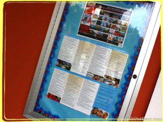 activities board hilton grand vacations