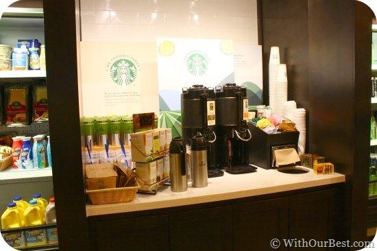 coffee bar in provisions hilton