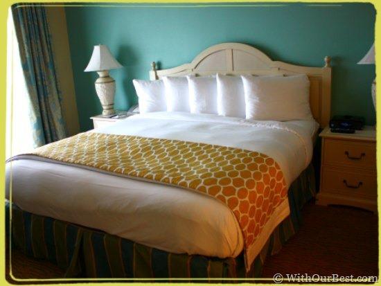 hilton grand vacations bed orlando