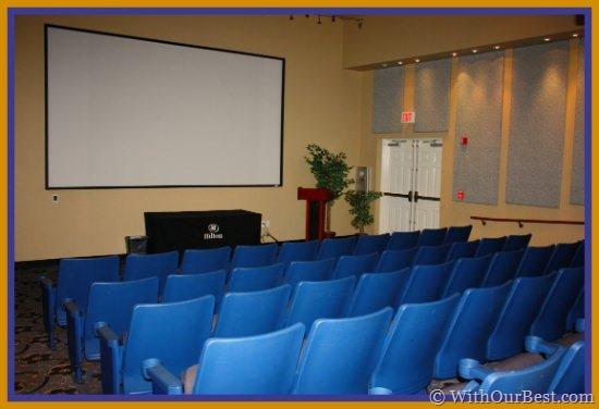 hilton grand vacations movie theatre