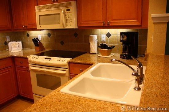 kitchen suite hilton grand vacations