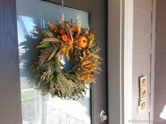 real-flower-wreaths-door