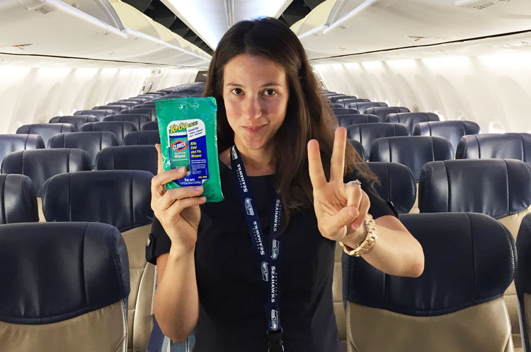 Travel-healthy-airplane