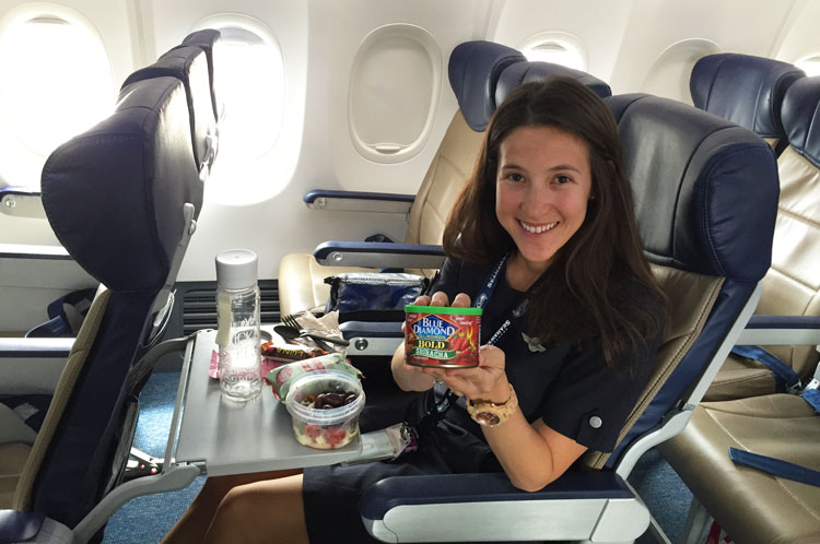 packing-snacks-on-planes