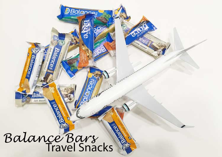 Balance Bars As Travel Snacks