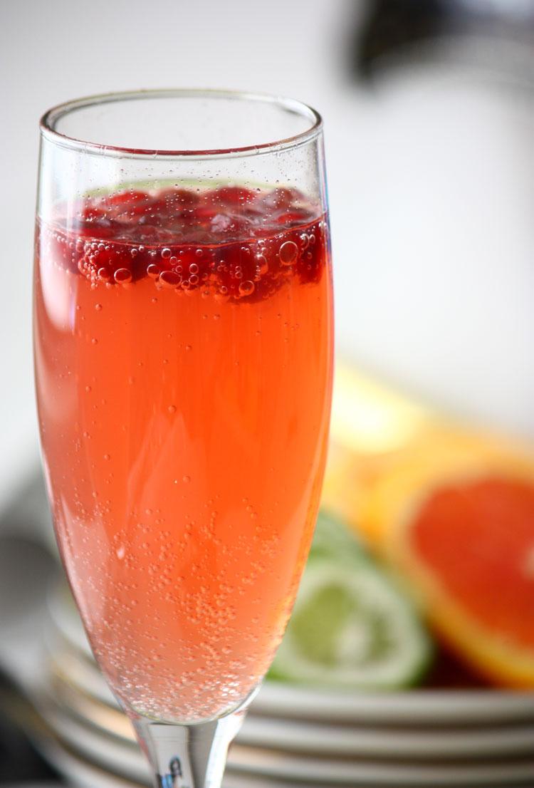 Pomegranate-mocktails