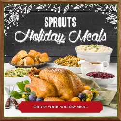 """Sprouts Farmers Market for the Holidays + Sprouts Blogger """"MeatUp"""""""