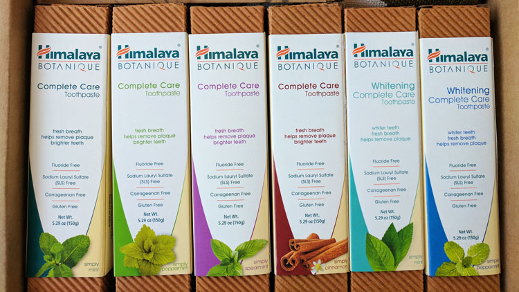 Himalaya Botanique Toothpaste Review