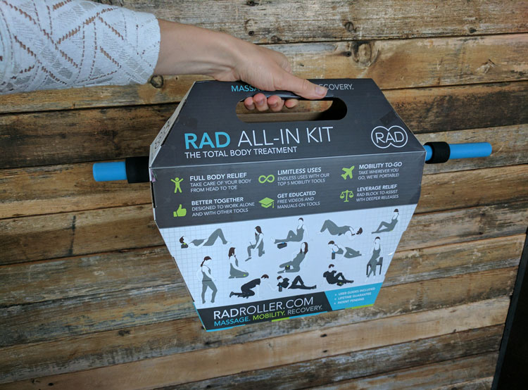 RAD Roller – Recovery Massage Roller Kit Review