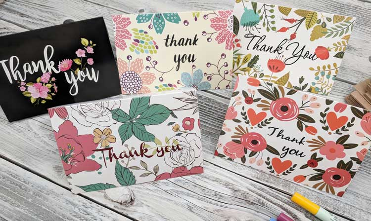 {8 Examples} When You Should Write a Thank You Card